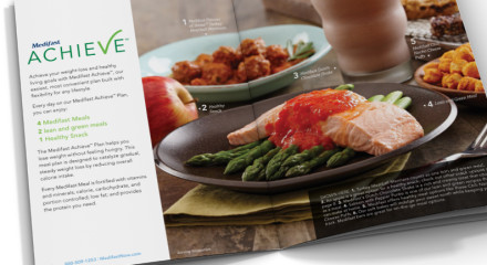 MAGALOG: 16 page publication introducing the new Medifast Achieve Plan.